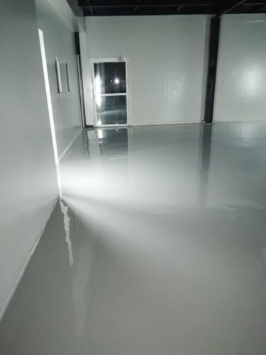 Ware House Epoxy Floor Coating Alqusais
